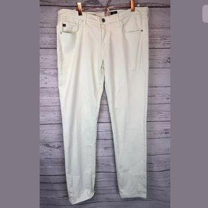 Ag Adriano Goldschmied mint green pants size 30